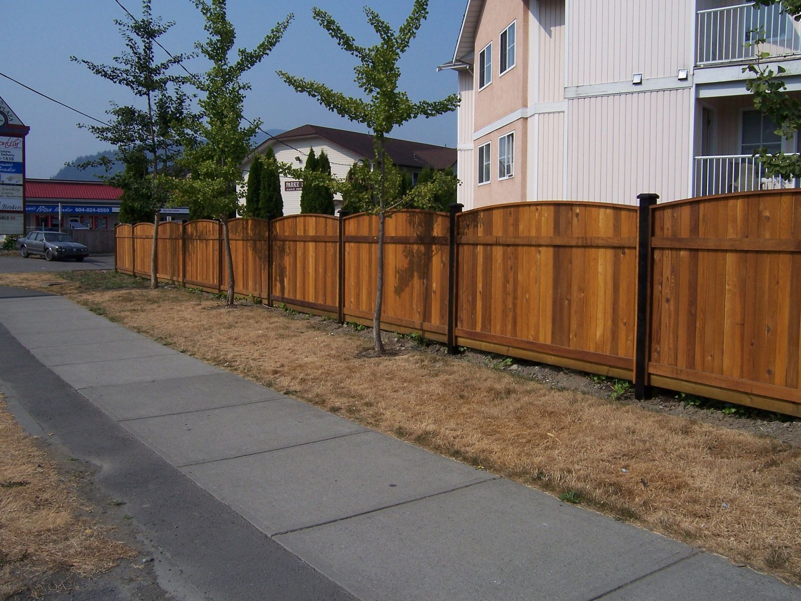 Residential property fencing in the Fraser Valley