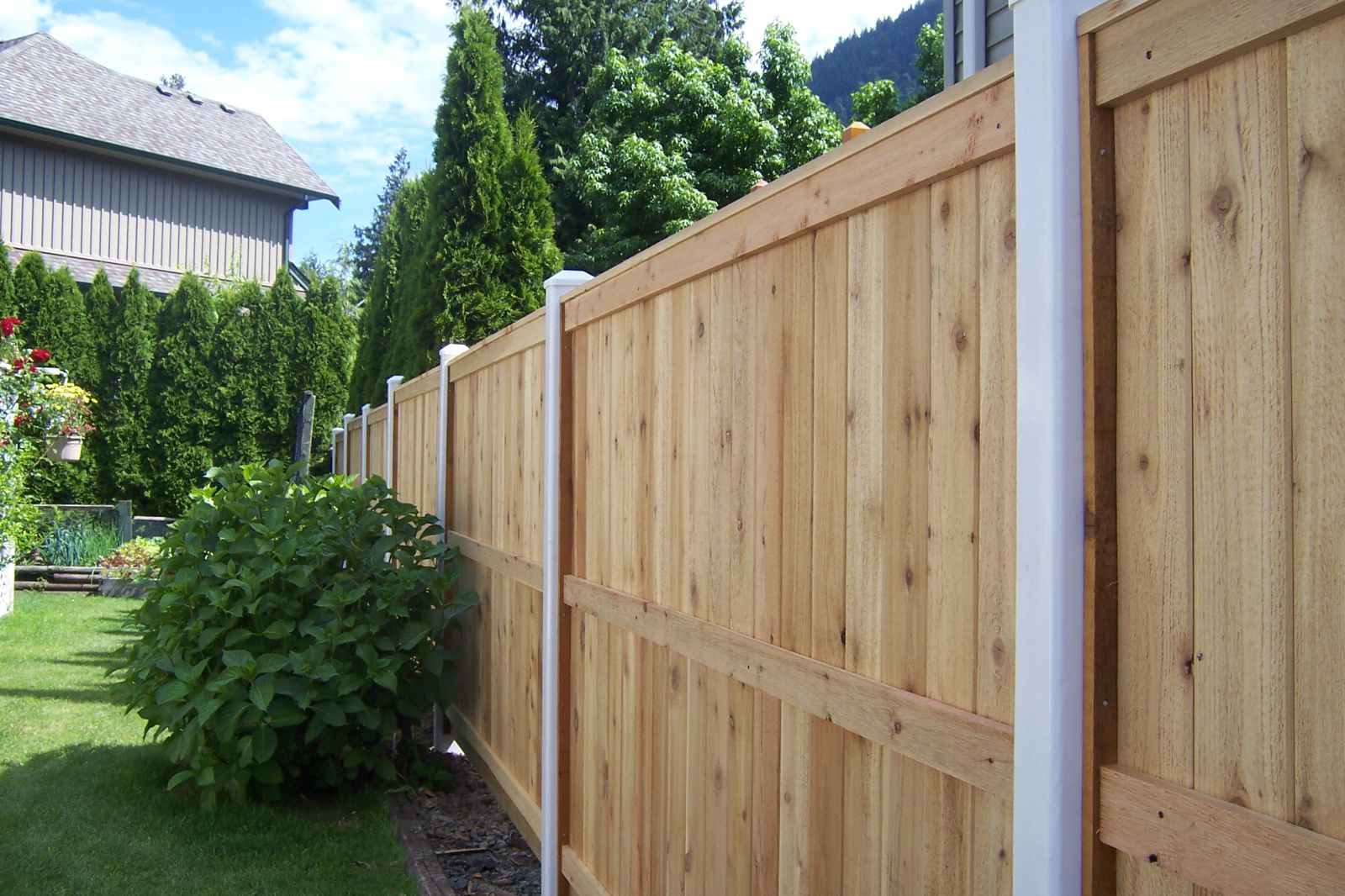 Wood Fencing Company Fraser Valley