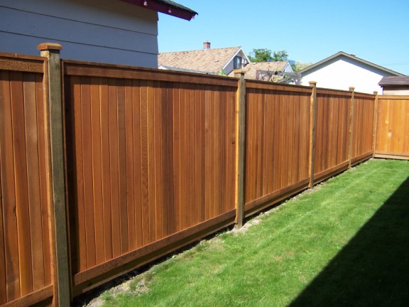 Five most popular types of wood fences for Types of fences