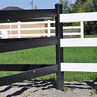 3 Rail Equine Fence