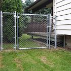 4' Galvanized Chain-link
