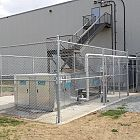 8' Galv Chain-link Enclosure