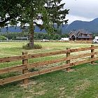 3 Rail Farm Fence