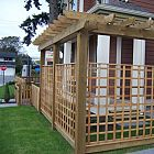 Arbour/Pergola & Lattice Scree