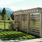 Arbour & Lattice Screen