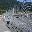 10' Galv Double Rolling Gate