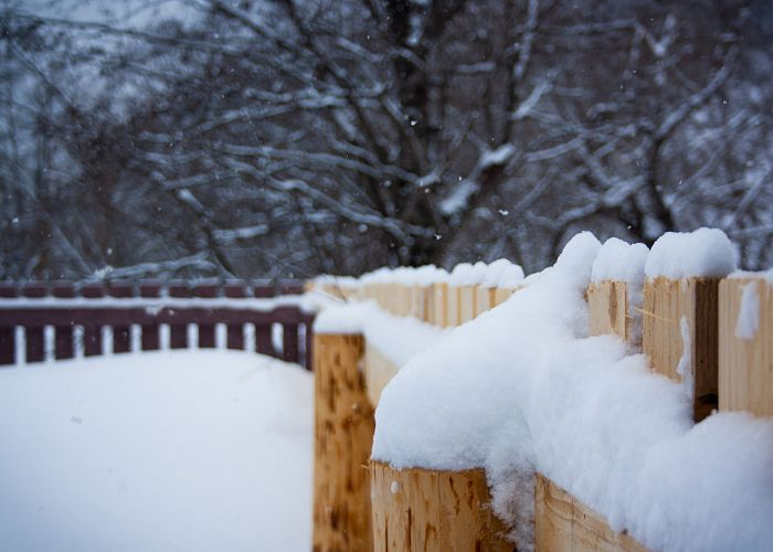 How to prevent water damage to your fence.